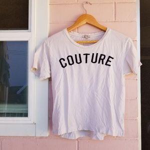 zara trafaluc • couture tee • L007